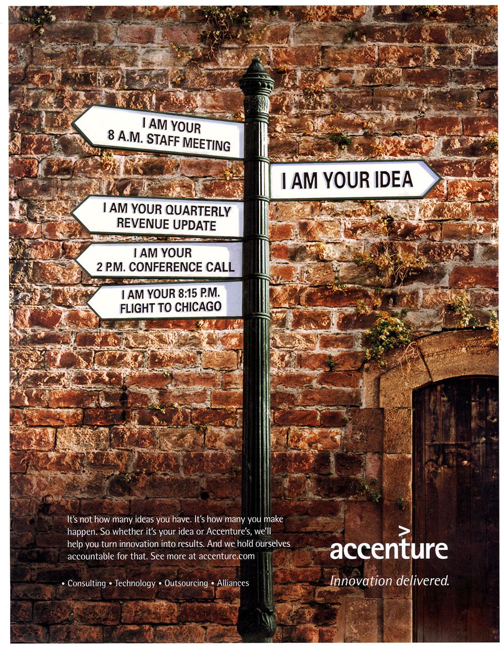 "Michael Brennecke | Accenture: ""I am your Idea"