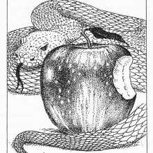 Snake-and-apple